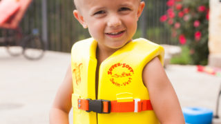 Super Soft® Child Life Vest, Action 01