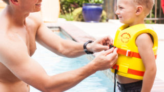 Super Soft® Child Life Vest, Action 02