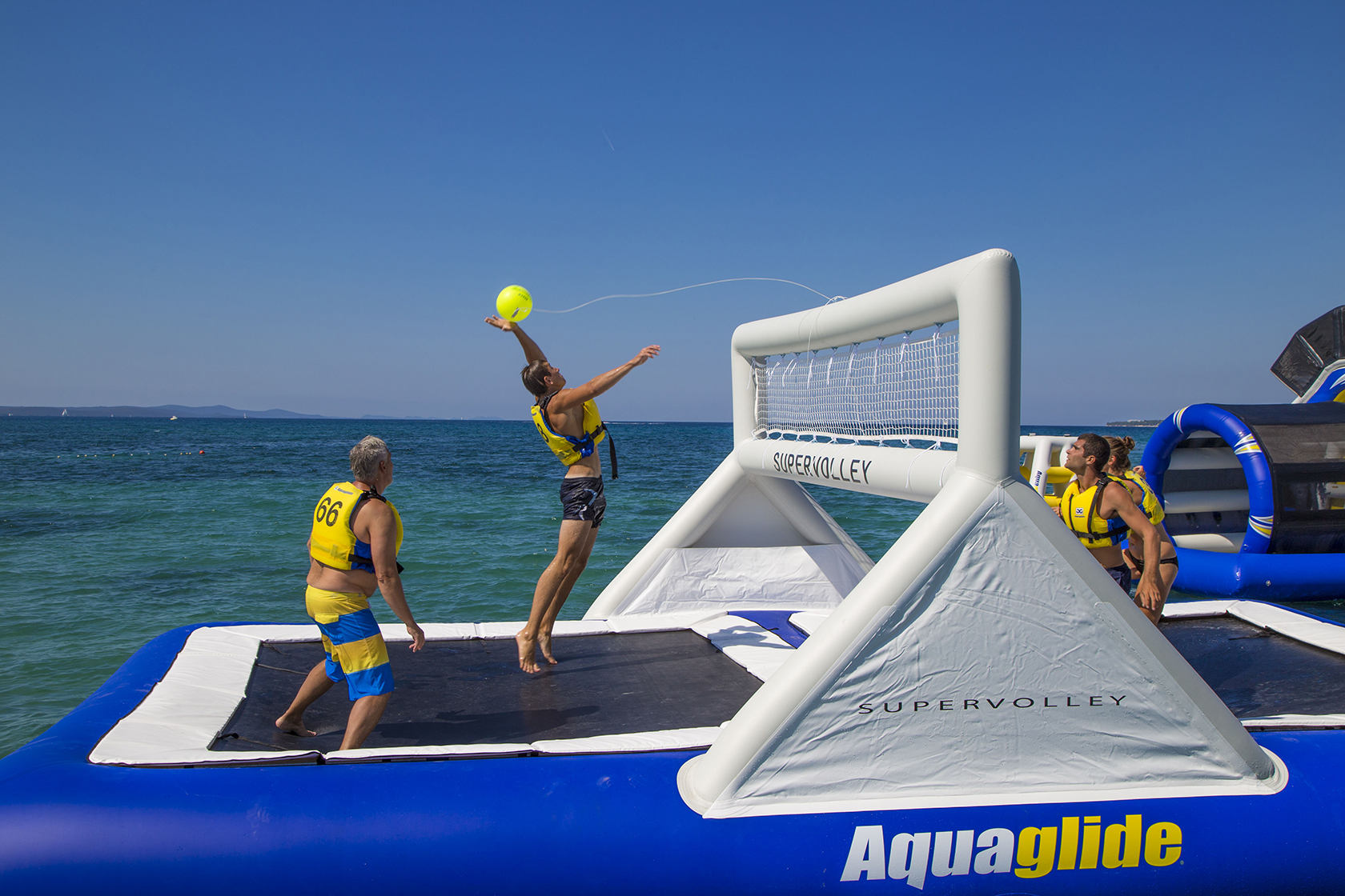 Aquaglide Supervolley 30 Commercial Recreation Specialists