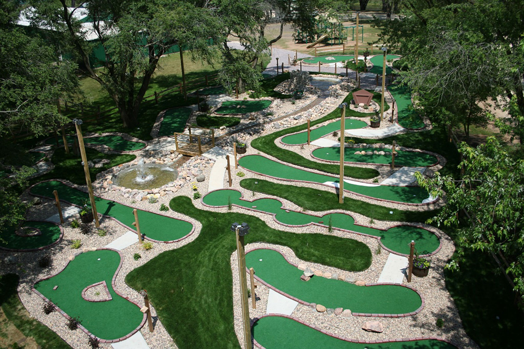 Adventure-Style Miniature Golf - Commercial Recreation