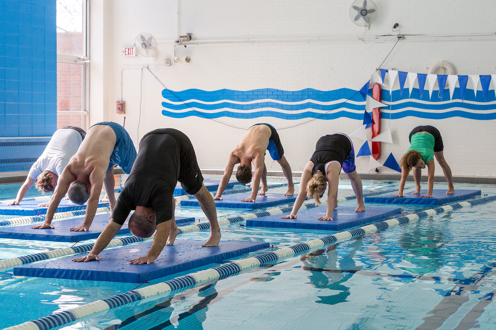 Yoga Watermat Commercial Recreation Specialists
