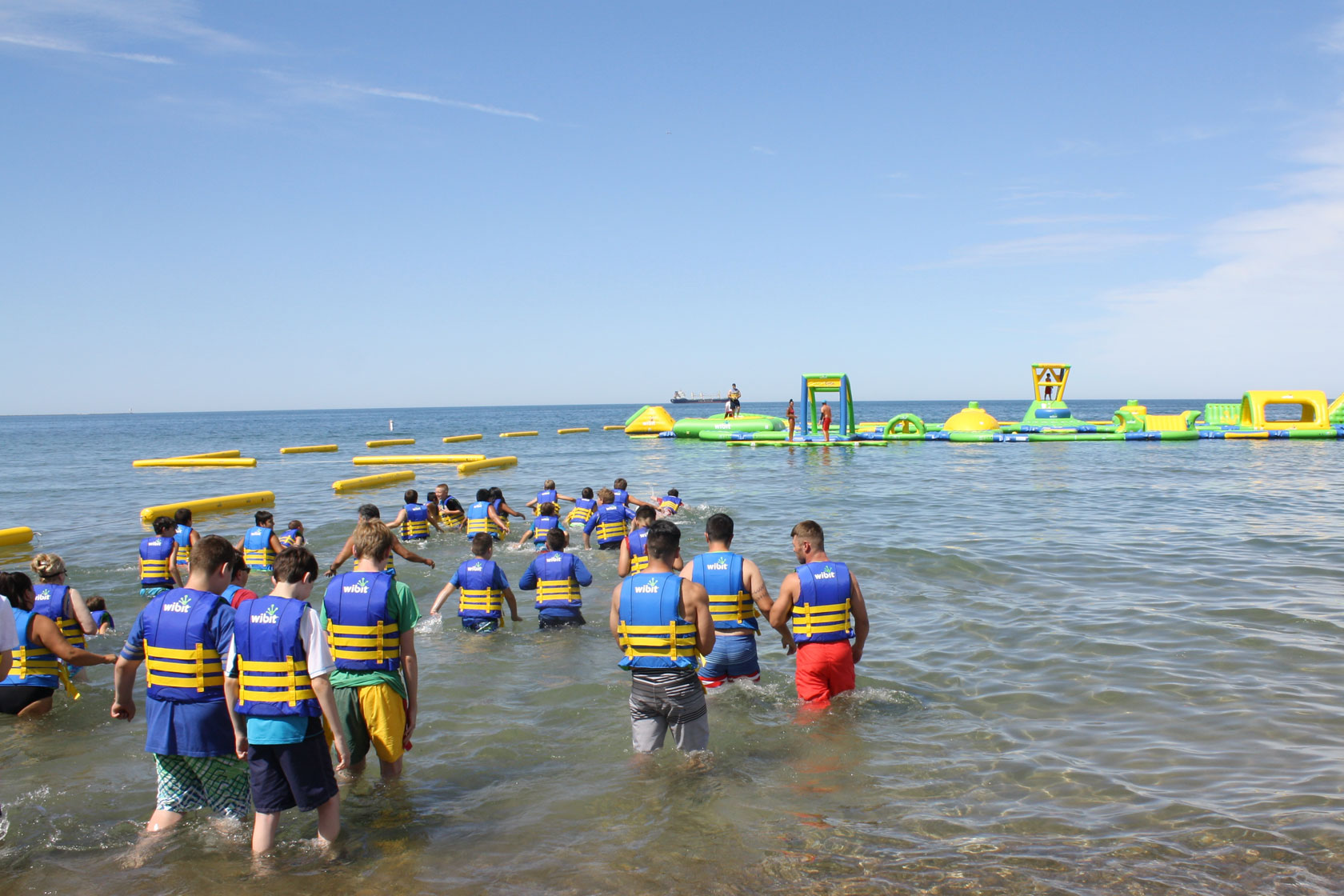 Whihala Beach Is Already Recognized As An Iconic Nature Based Summer Activity Area And By Adding Wibit To The Waterfront Whoazone At
