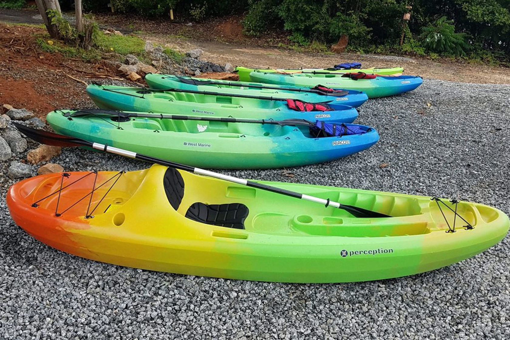 Access Kayak - Commercial Recreation Specialists