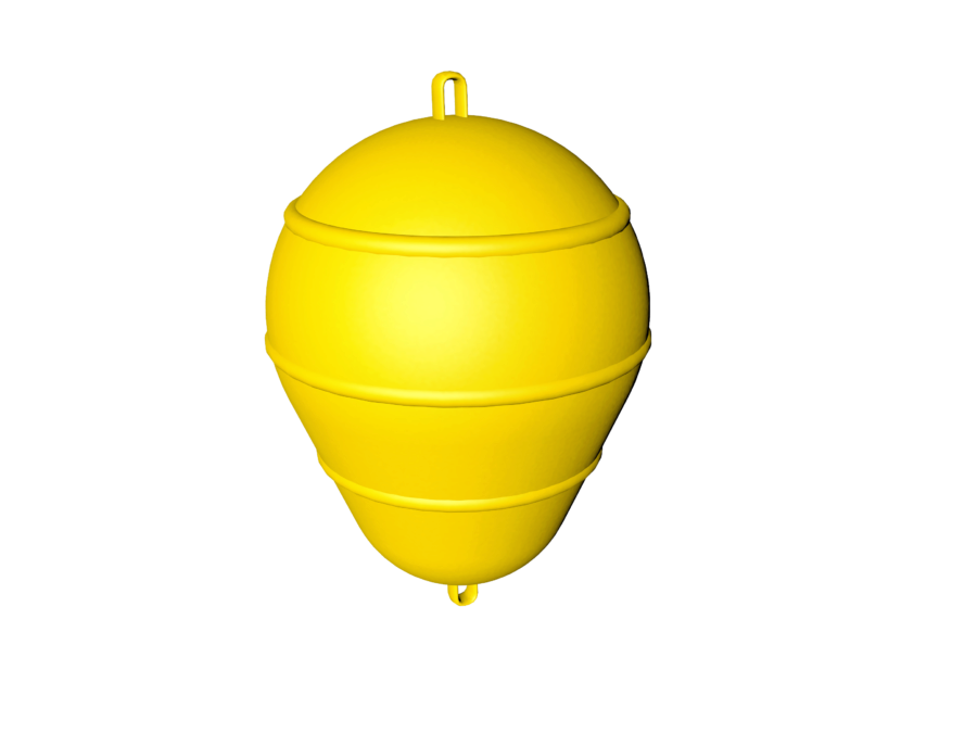 40202_plastic_marker_buoy_yellow_side_view